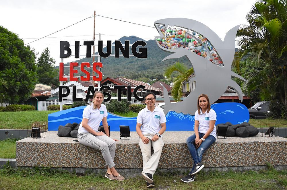 Bitung less plastic