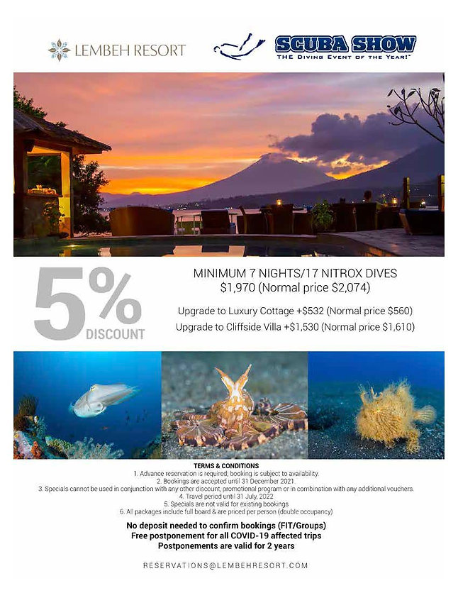 Lembeh Resort special - Scuba Show 2021.