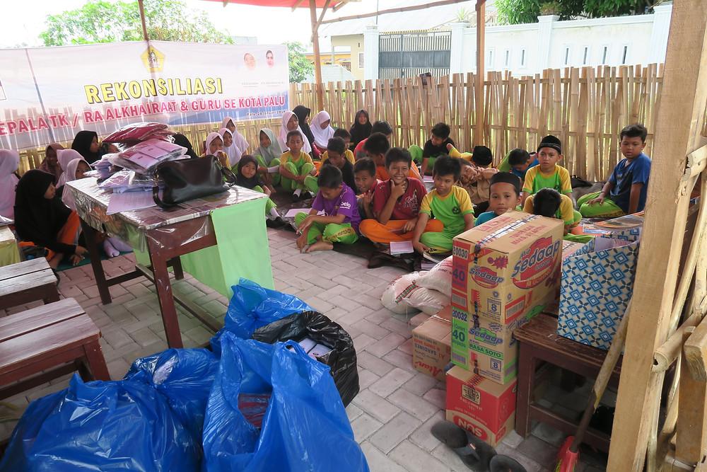Palu disaster aid