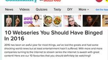 BuzzFeed Names CODED in Top Ten to Binge Watch in 2016
