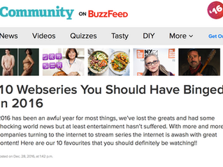 BuzzFeed Names CODED in Top Ten to Binge Watch in 2016