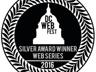 'Silver Award' WIN at DC Web Fest