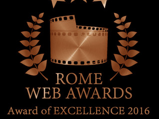2 Rome Web Awards of Excellence