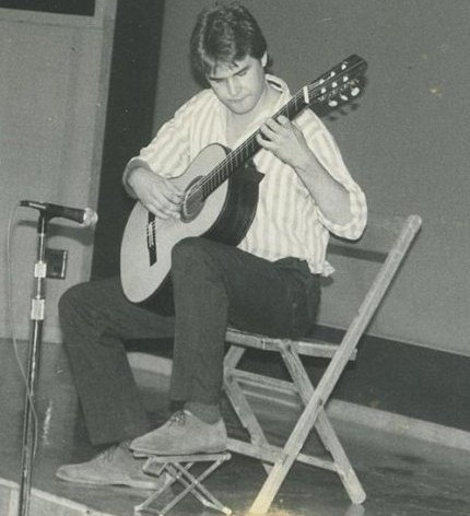Me performing at the Indiana State Fair, 1987.