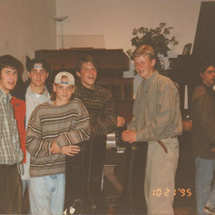 Students, after rectial, 1995.