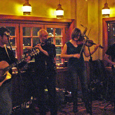 Performing at Claddagh, 2012.