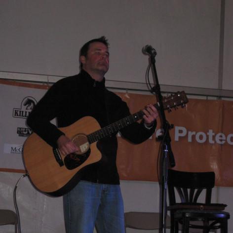 Performing at Irish Fest, 2012.