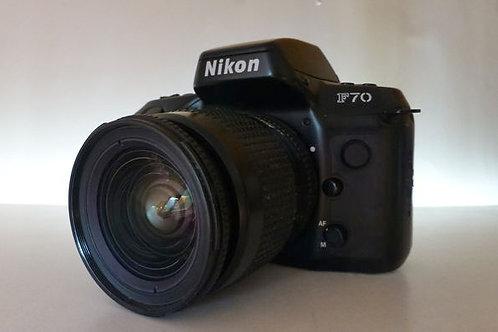 NIKON F70 + NIKKOR 28-80MM
