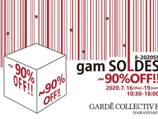 gam SOLDES 8-2020SS