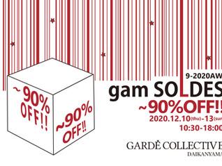 gam SOLDES-9.2020AW