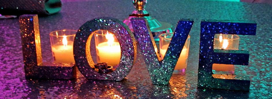 Wedding decorations LOVE
