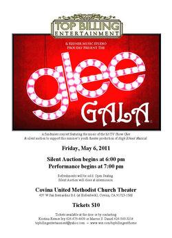 Glee Gala 2011