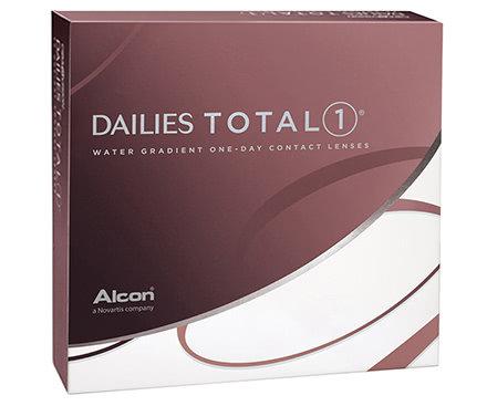 DAILIES TOTAL1®, da -6.25 a -10 .  contiene 90 lenti giornaliere