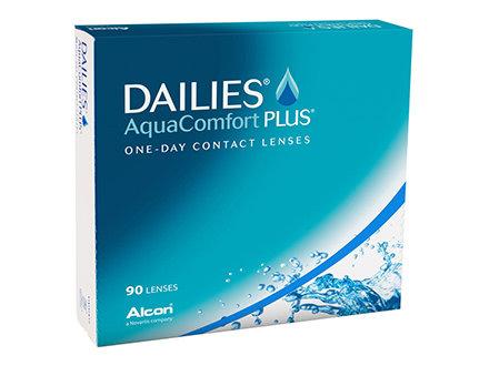 Dailies AquaComfort PLUS, da -0.75 a -6 .  contiene 90 lenti giornaliere