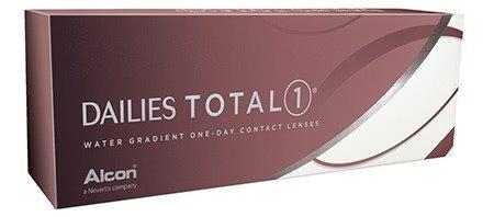 DAILIES TOTAL1®, da -0.75 a -6 .  contiene 30 lenti giornaliere
