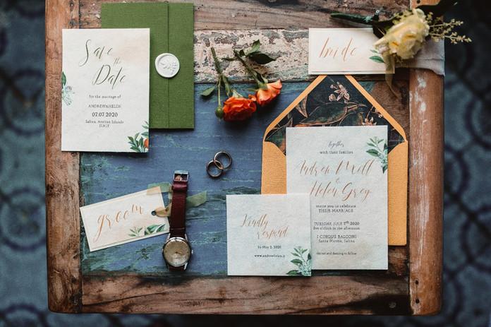 Wedding Stationery - Salina
