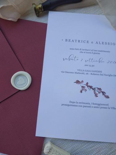 Beatrice + Alessio