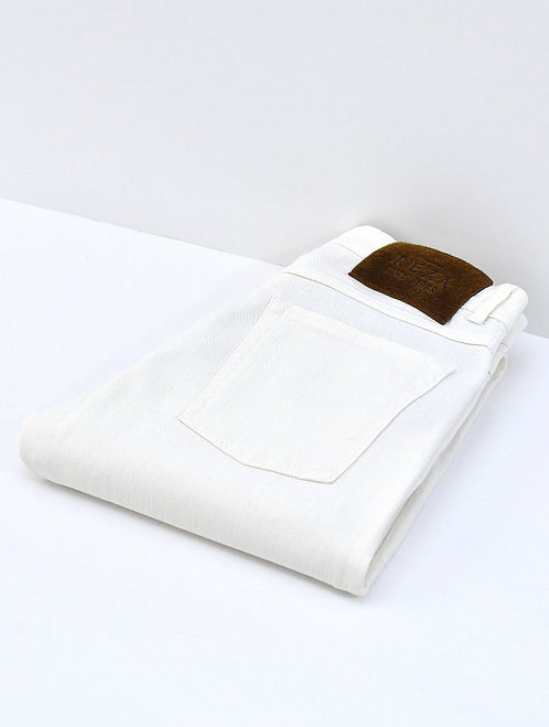 Jeans Bourdain Blanc