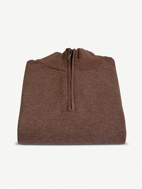 Pull Cousteau Col Zip