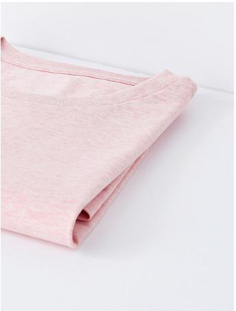 T-Shirt Hanno Coton Bio Chiné