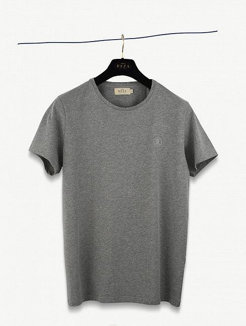 T-Shirt Drake Gris Chiné