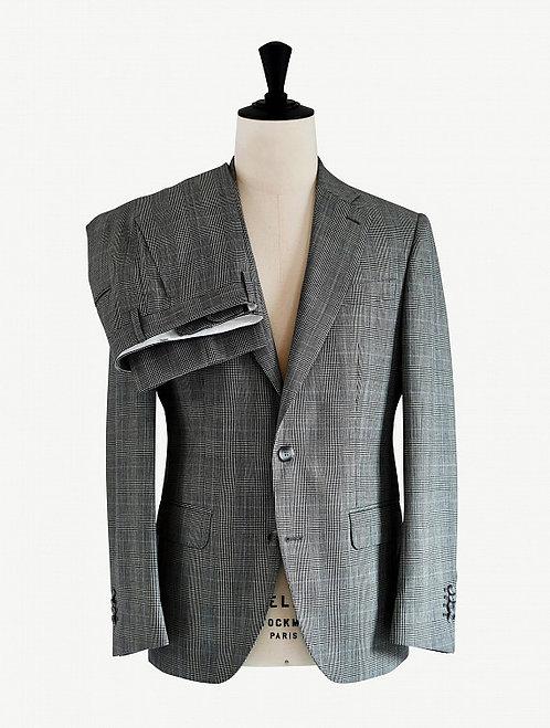 Costume Verne Carreaux gris