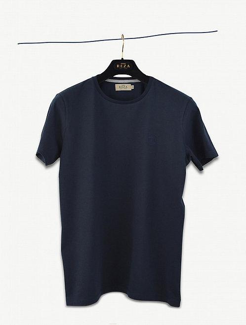 T-Shirt Drake Bleu Navy