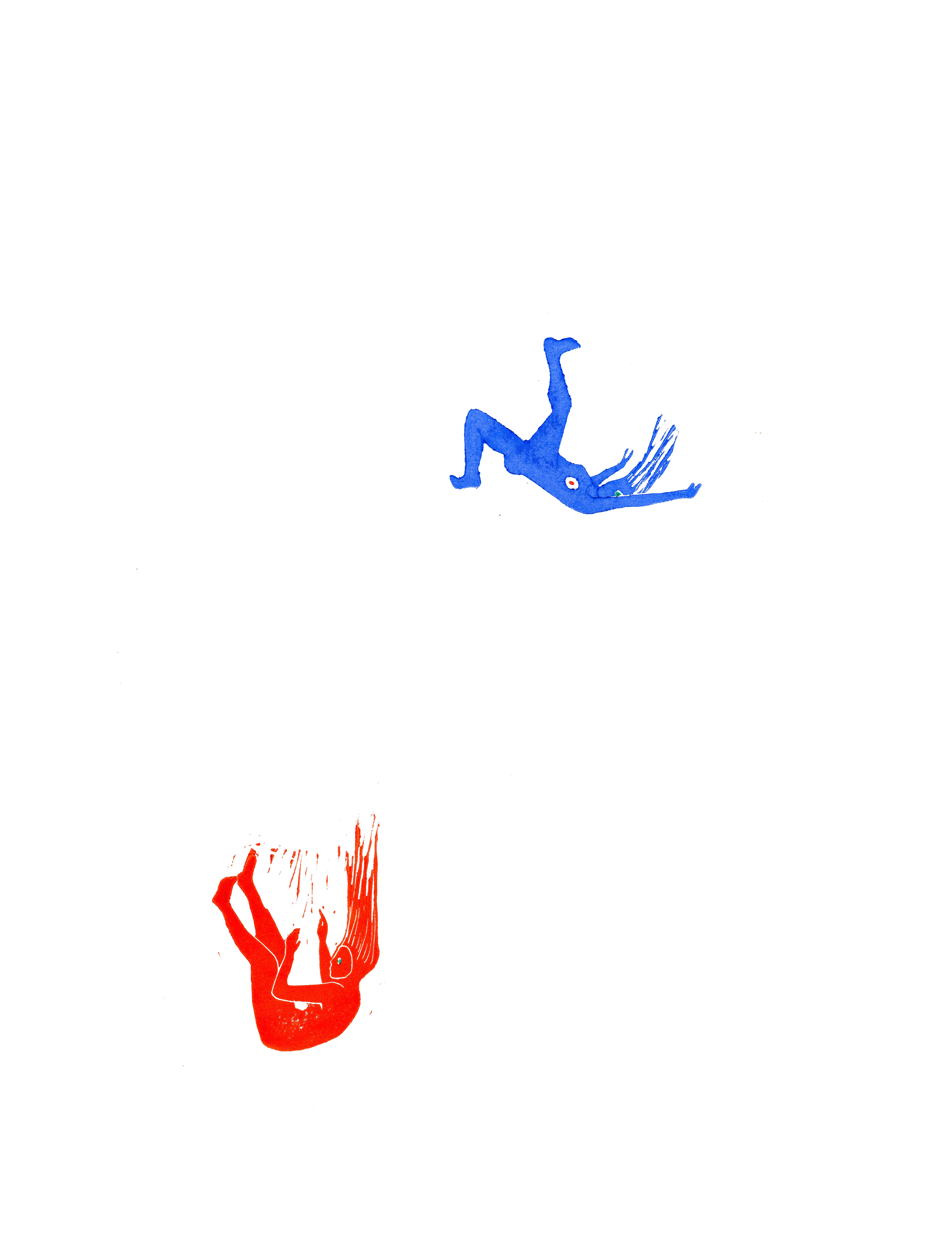 Rouge et Bleue