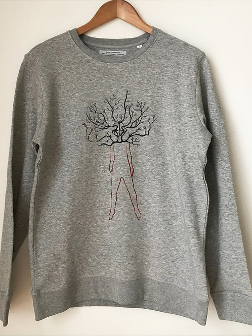 arborescence sweat homme