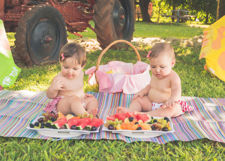 Ensaio Smash Fruit Olga e Inês