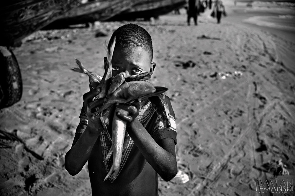Boy with the fish.