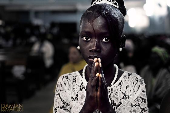 Baptized girl.