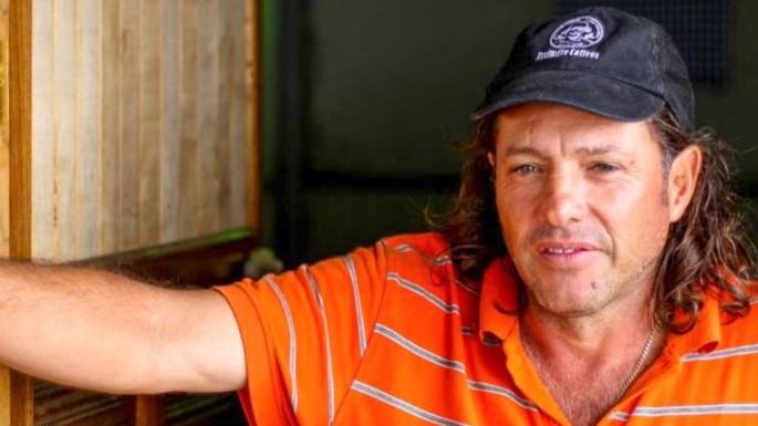 Coffee farmer in Costa Rica