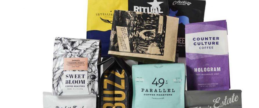Coffee bag labels