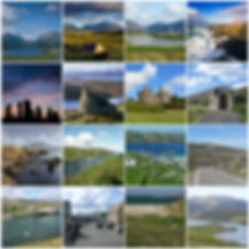 LandForSaleIsleOfLewis-HouseSite-CollageofIslandLandscapes&Artifacts