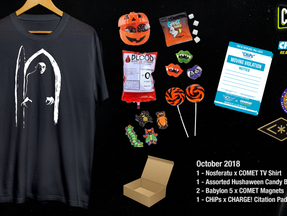 COMET TV & Charge! October Prize Pack Giveaway