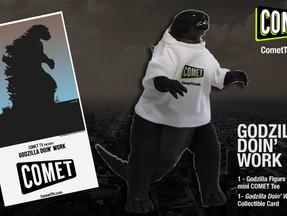 COMET TV Godzilla Doin' Work Prize Pack Giveaway
