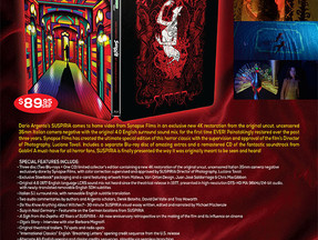 SUSPIRIA Limited Edition Blu-ray Steelbook & Extras Revealed