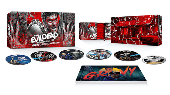 The Evil Dead Groovy Collection arrives on 4K Ultra HD + Blu-ray + Digital Arriving 11/16