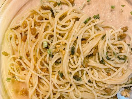 Diary: Natto Pasta