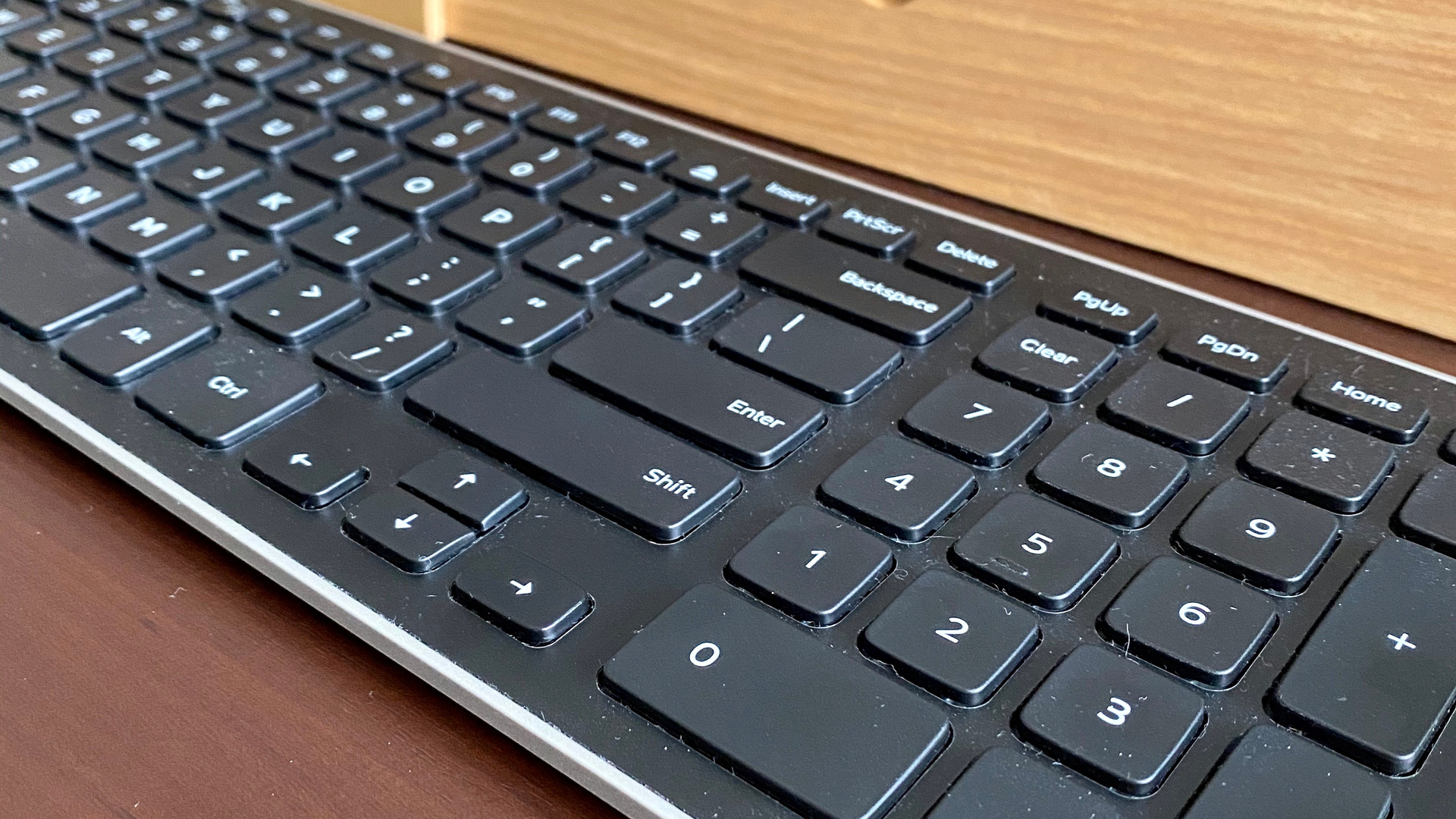 Keyboard in an office