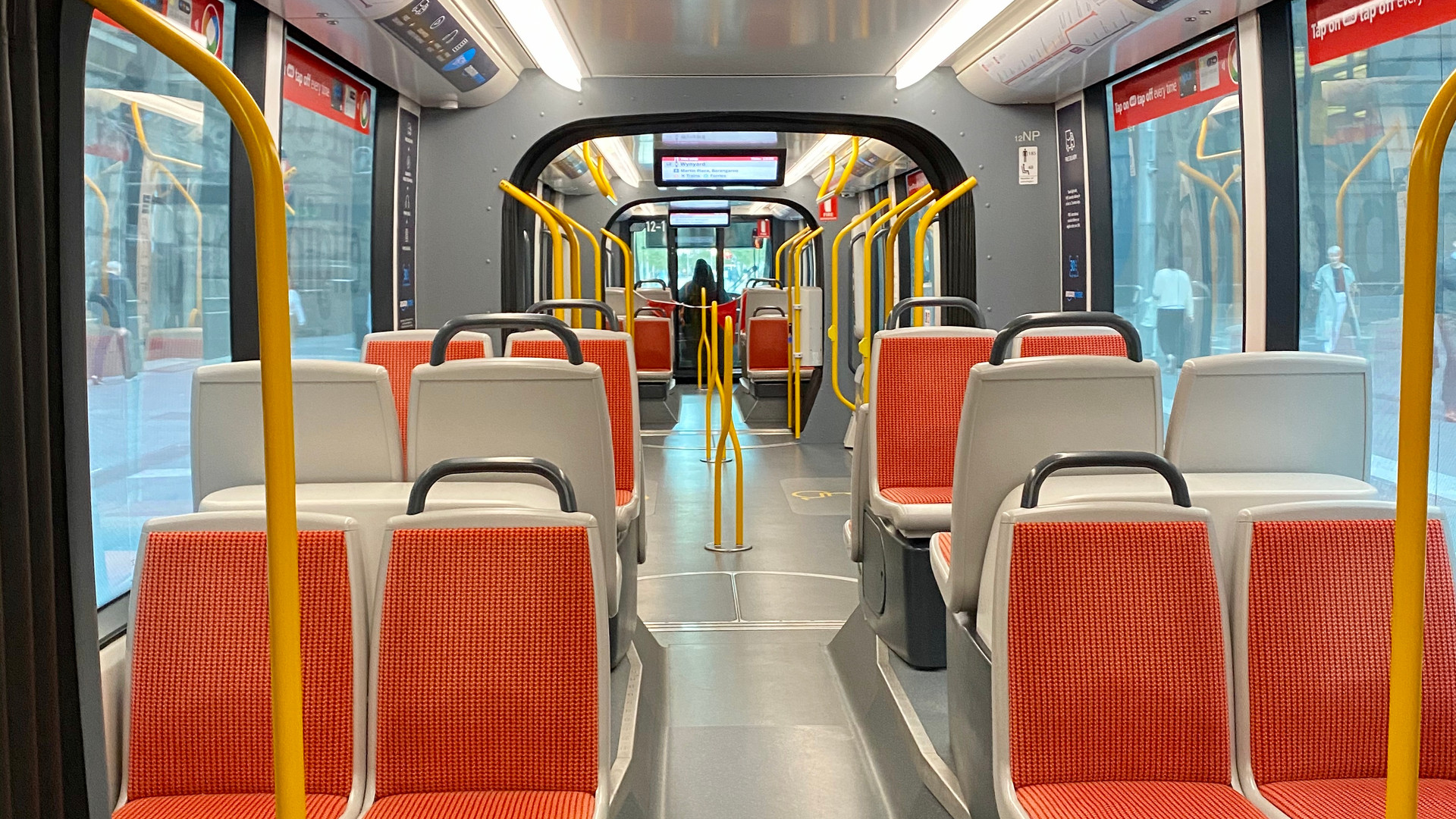 Disinfection services for public transport