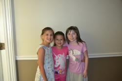 Lily, Lucy, and Alyssa