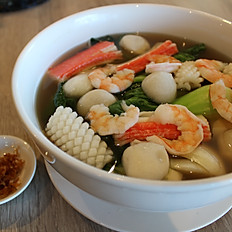 Seafood Pho With Vegetable