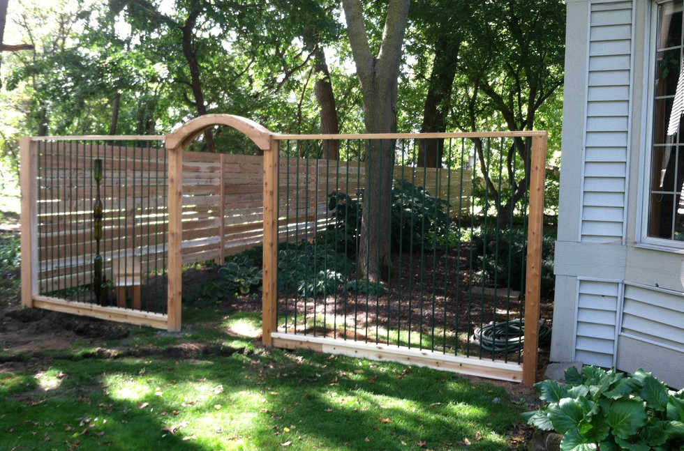 Personalized fence front
