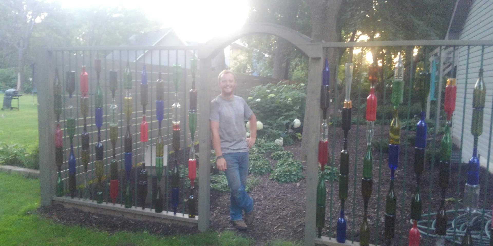 Bottle Fence Addition