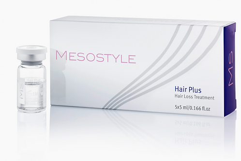 5 viales de Mesostyle Hair Plus