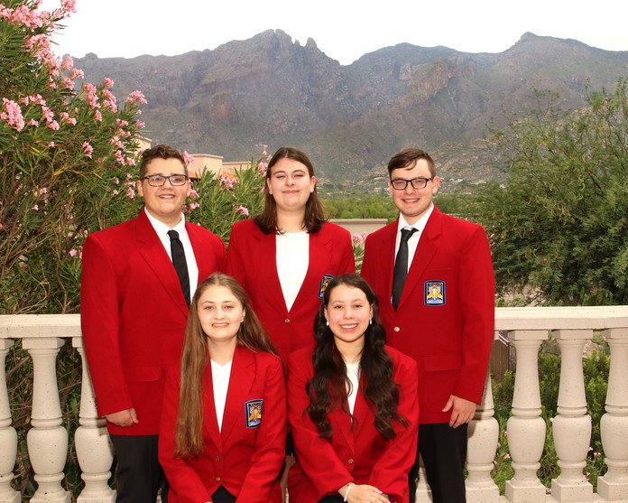 2021-2022 State Officer Group Picture 2