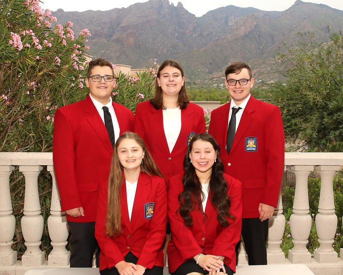 2021-2022 State Officer Group Picture