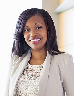Mujer sonriente profesional